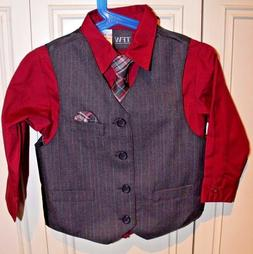 New TFW 3 piece formal set  for little boys size 3T