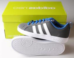 New Blue/Grey/White ADIDAS Kids Boys Neo VS Advantage K Shoe