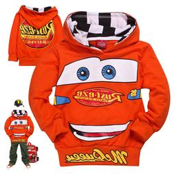 new boys girls cars lightning mcqueen pullover