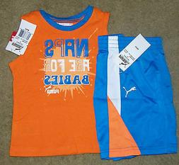 New! Boys PUMA Summer Outfit  - Size 12 mo