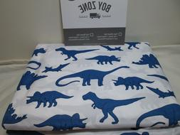New Boy Zone Full Sheet Set Blue DINOSAURS ~ Superior Softne