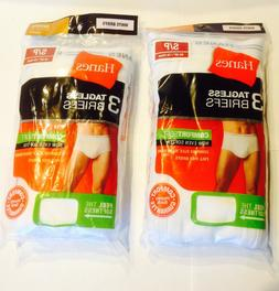 NEW Lot of 2 Hanes 3 Tagless White Briefs sz Small 28-30inch