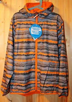 New Columbia Pixel Grabber II Wind Jacket for boys size M