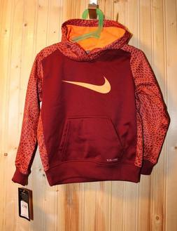 New NIKE Therma hoodie for little boys size 4