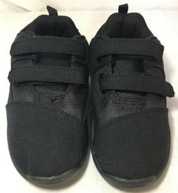 New Toms Boys/Girls Size T12 Black Shoes with Velcro Closure