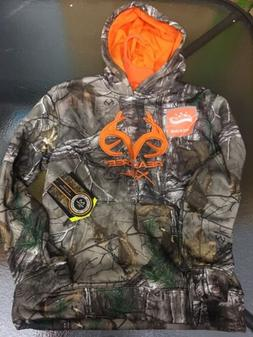 NEW Youth REALTREE Camo Hoodie Boys Size L10-12 Hooded Sweat
