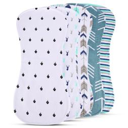 "Newborns Burp Cloth for Boys Girls Premium Large 18.7""x8.85"""