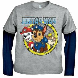 Nickelodeon Boys Paw Patrol Long Sleeve T-Shirt with Favorit