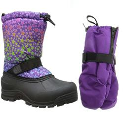 northside frosty snow boots matching waterproof gloves