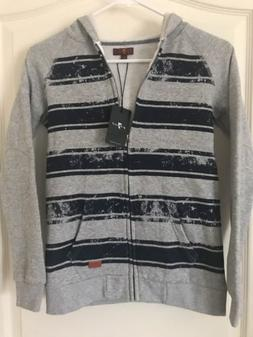NWT 7 Seven For All Mankind Boys Kids Zip Up Hoodie Jacket G