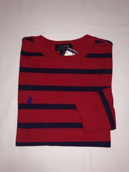 NWT,POLO RALPH LAUREN BOY'S YOUTH STRIPES LONG SLEEVE T.SHIR