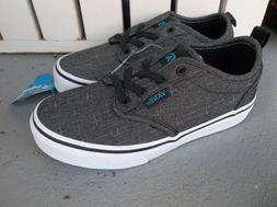 NWT VANS BOYS/YOUTH ATWOOD SLIP ON SNEAKERS/SHOES SIZE 13.BR