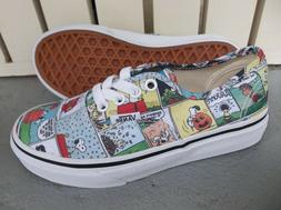 NWT VANS BOYS/YOUTH AUTHENTIC PEANUTS SNEAKERS/SHOES SIZE 13