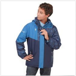 NWT!! Free Country Hooded Boarder Jacket For Boys M-10/12 Co