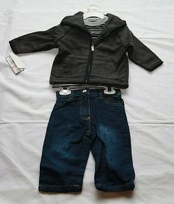 NWT Kenneth Cole Reaction 3 Piece Jacket Set for Toddlers Ho