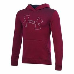 NWT Under Armour Threadborne® Tilt Hoodie  Sz xl youth dark