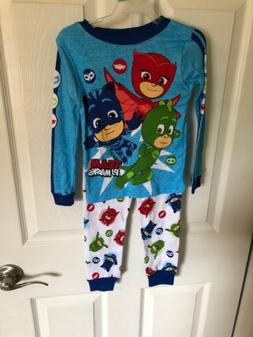 NWT Toddler Boy's Pj Masks Pajamas Long Sleeve Pants Size