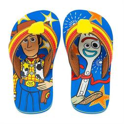NWT Disney store Woody Flip Flops Sandals Shoes Toy Story 4