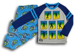 Fortnite Pajamas Long Sleeve Dance Emote PJ Set for Boys SIZ