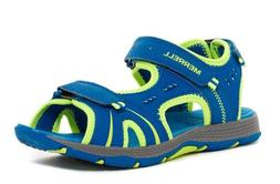 MERRELL Panther Sandal in Blue Citron for Boys Size 3 or 4 N