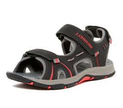MERRELL Panther Sandal in Red/Black for Boy Size 1 NIB $45