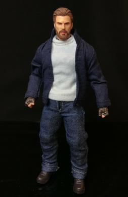 PB-CA-SET: 1/12 Casual Outfit for Marvel Legends Captain Ame