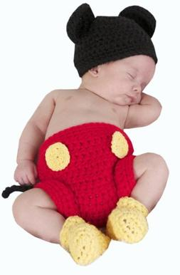 Jastore Photography Prop Baby Costume Cute Crochet Knitted H
