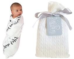 Unique Baby Gifts - Baby Swaddle Blanket in a Beautiful Gift
