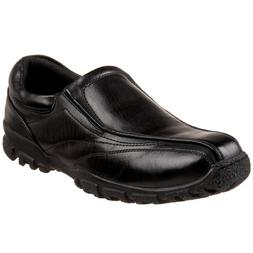 Deer Stags Recess Slip-On ,Black,11 M US Little Kid