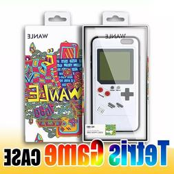 Retro Game Tetris Phone Cases Play Game Boy Case For iPhone