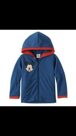 Disney's Mickey Mouse & Friends Zip Hoodie For Toddler Boy