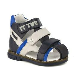 Sandals for Boys with Orthopedic Gel System Kids Leather Sho