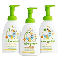 Babyganics Baby Shampoo + Body Wash, Orange Blossom, 16oz Pu