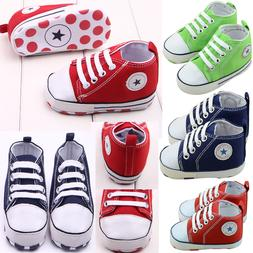 Shoes For Boys Toddler Newborn Sneaker Sole 3-18 Infant Girl