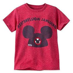 SIZE 10-12  MICKEY MOUSE ICON MOUSEKETEER TEE FOR BOYS DISNE