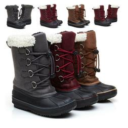 Snow Boots For Boys Girls Children Plus Size Winter Boots Ki