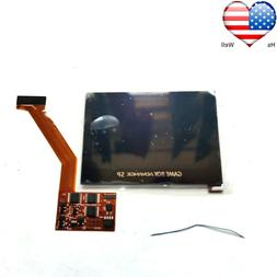 For GBA SP IPS Game Boy Advance SP Backlight Brightness Scre