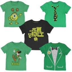 Jumping Beans St. Patrick's Day Irish Green T-shirt for Todd