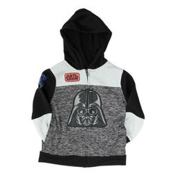 Star Wars Full Zip Hoodie for Boys Darth Vader Hooded Sweats