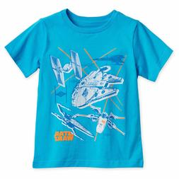 Disney Store Authentic Star Wars Starships T-Shirt for Boys