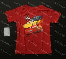 DISNEY Store TEE for Boys CARS 3 Red T Shirt Choose Size NWT