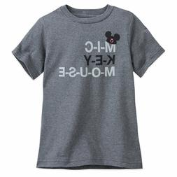 DISNEY Store TEE for Boys MICKEY MOUSE CLUB MOUSEKETEER T Sh
