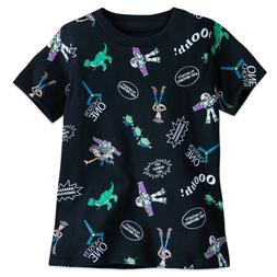 DISNEY Store TEE for Boys TOY STORY BUZZ LIGHTYEAR & WOODY T
