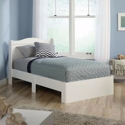 Sauder Storybook Twin Mates Bed, Soft White