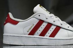 ADIDAS SUPERSTAR leather shoes for boys, NEW & AUTHENTIC, US