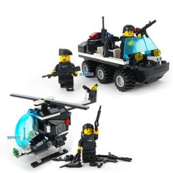 SWAT CITY RIOT POLICE Helicopter <font><b>Armoured</b></font