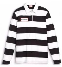 Hunter For Target Boy Striped Polo Rugby Shirt Long Sleeve B
