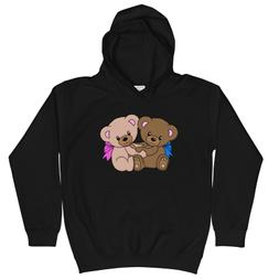 Teddy Bears Youth Kids Hoodie for Boys and Girls