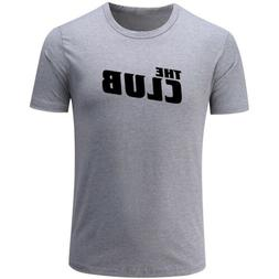 The Club Design Men's Sports T-Shirts Graphic Cotton Tee Shi