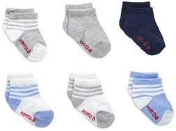 Hanes Boys' Toddler 6-Pack Ankle Socks,Assorted,4T-5T, New,